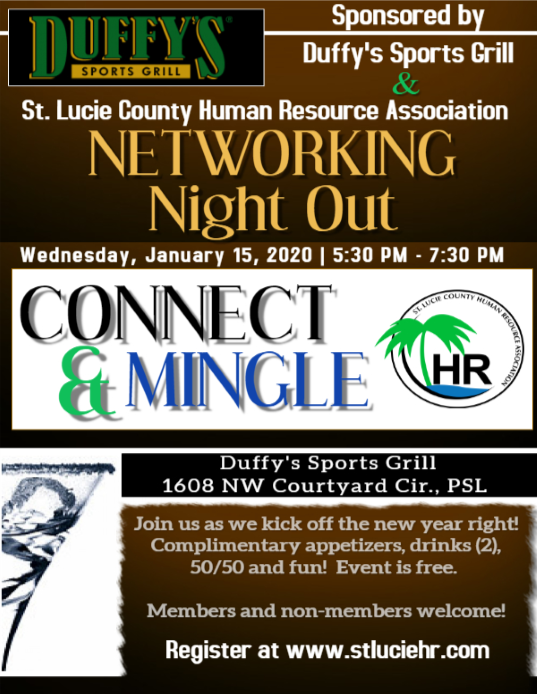 Networking Night Out Flyer
